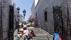 Okolice Rynku Głównego w Arequipie