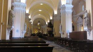 Wnętrze katedry w Arequipie