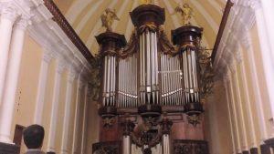 Organy w katedrze w Arequipie