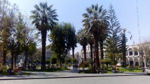 Rynek Główny w Arequipie
