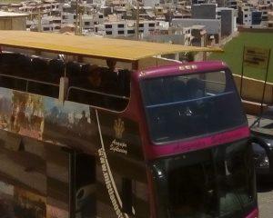Autobus turystyczny w Arequipie