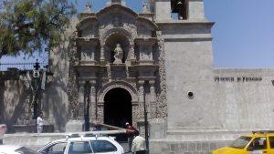 Kościół na placu Yanahuara